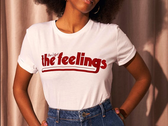 Image of T-SHIRT Don't fight the feelings