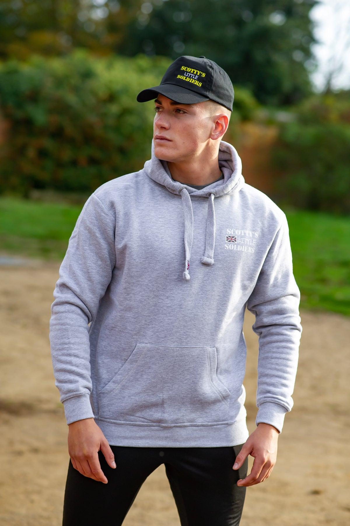 Image of 2019 Classic Scotty's Hooded Top - Heather Grey