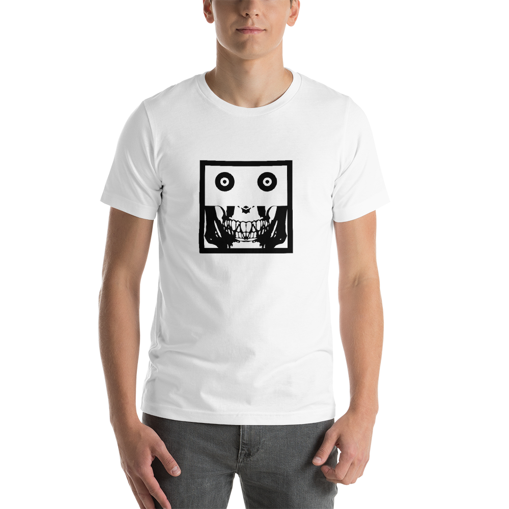 Image of Dead Punk Square Unisex t shirt