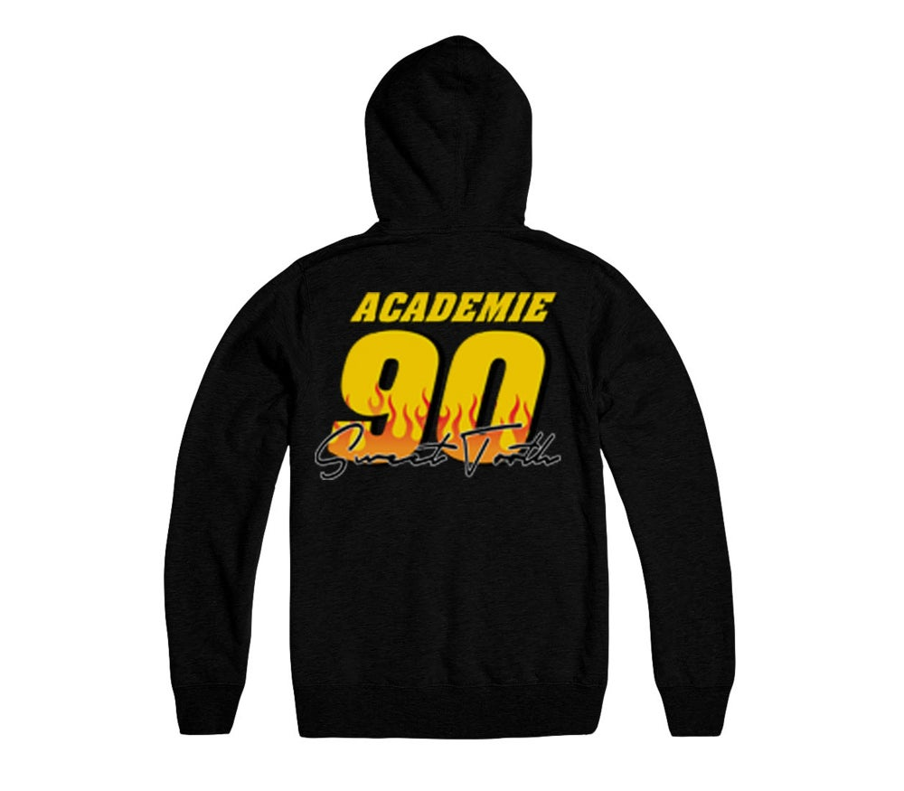 Image of RACE TO YOUR DESTINY HOODY BLACK