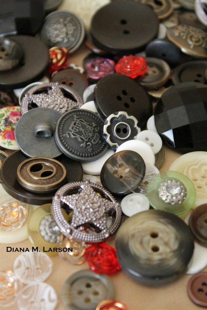 Image of Vintage buttons