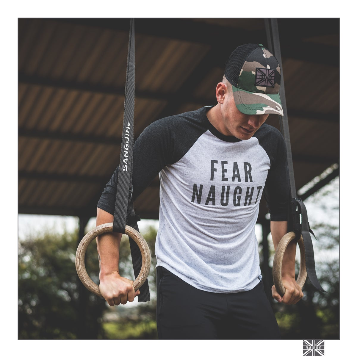 Image of Fear Naught Baseball Tee
