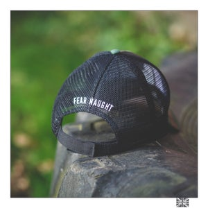 Image of Fear Naught Camo Truckers Cap