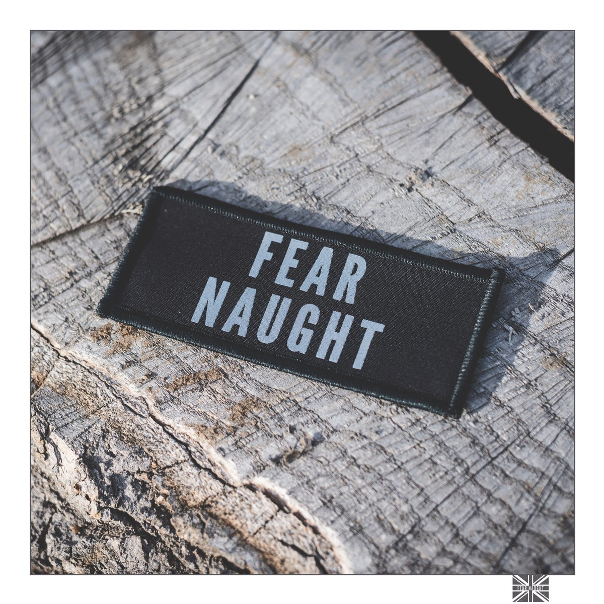 Image of Fear Naught Logo Patch