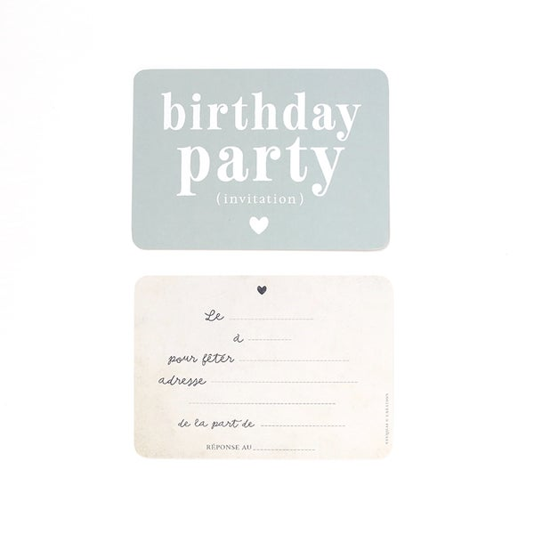 Image of Carte Postale BIRTHDAY PARTY / ADELE