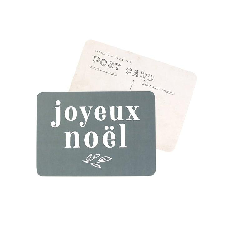 Image of Carte Postale JOYEUX NOEL / ADELE