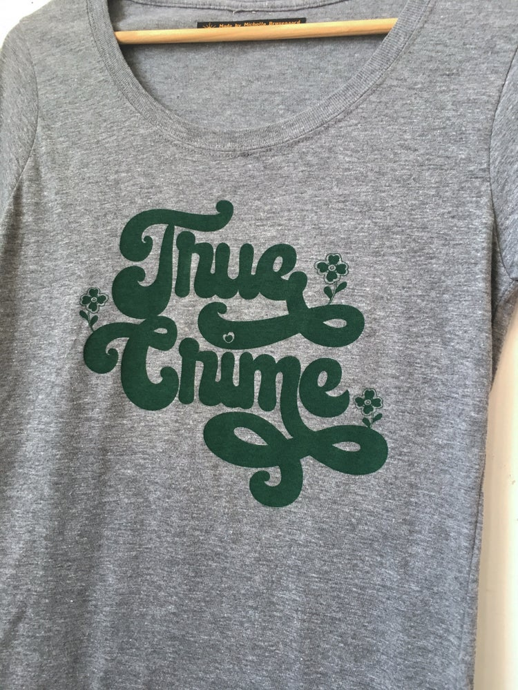 Image of True Crime Tee - ladies fit