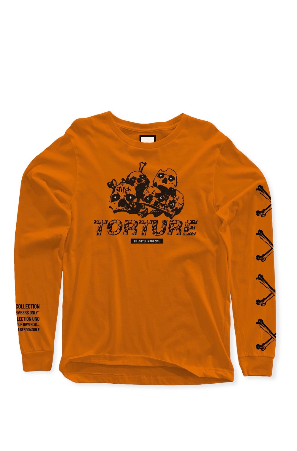 Image of TORTURE Lifestyle Magazine Long-Sleeve
