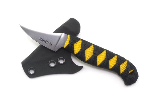 Image of Fruit Knife (Black Ti Nitride Yellow/Black Cord)