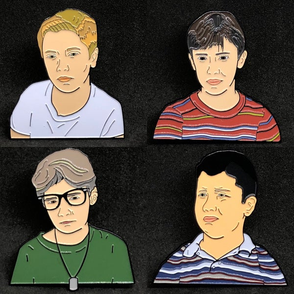 Image of 'Stand By Me' - Pin Set (Limited Edition /100)