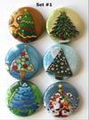 Christmas Tree Flair Buttons