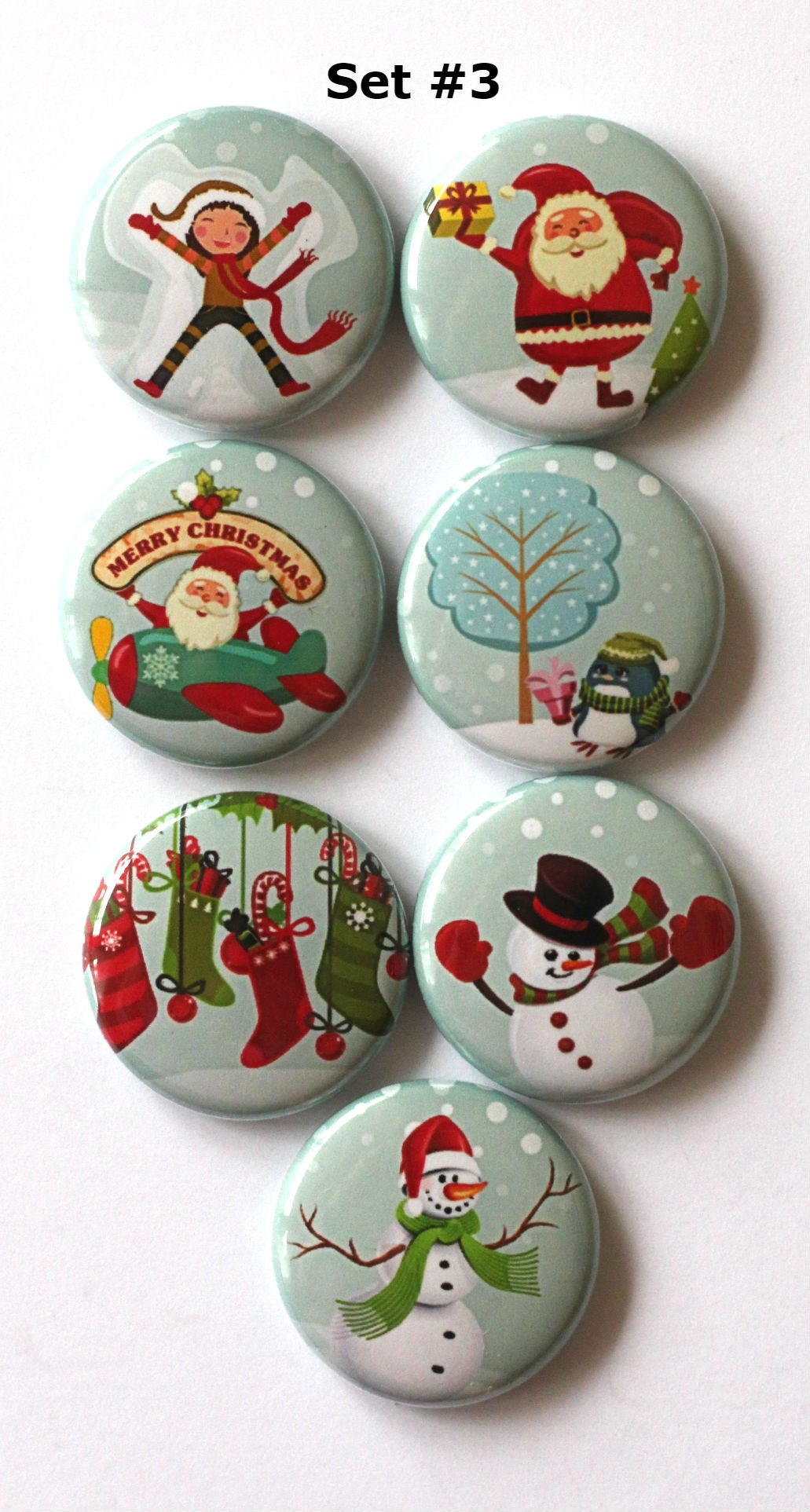 Image of Spirit of Winter Flair Buttons