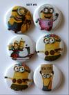 Minion Flair Buttons