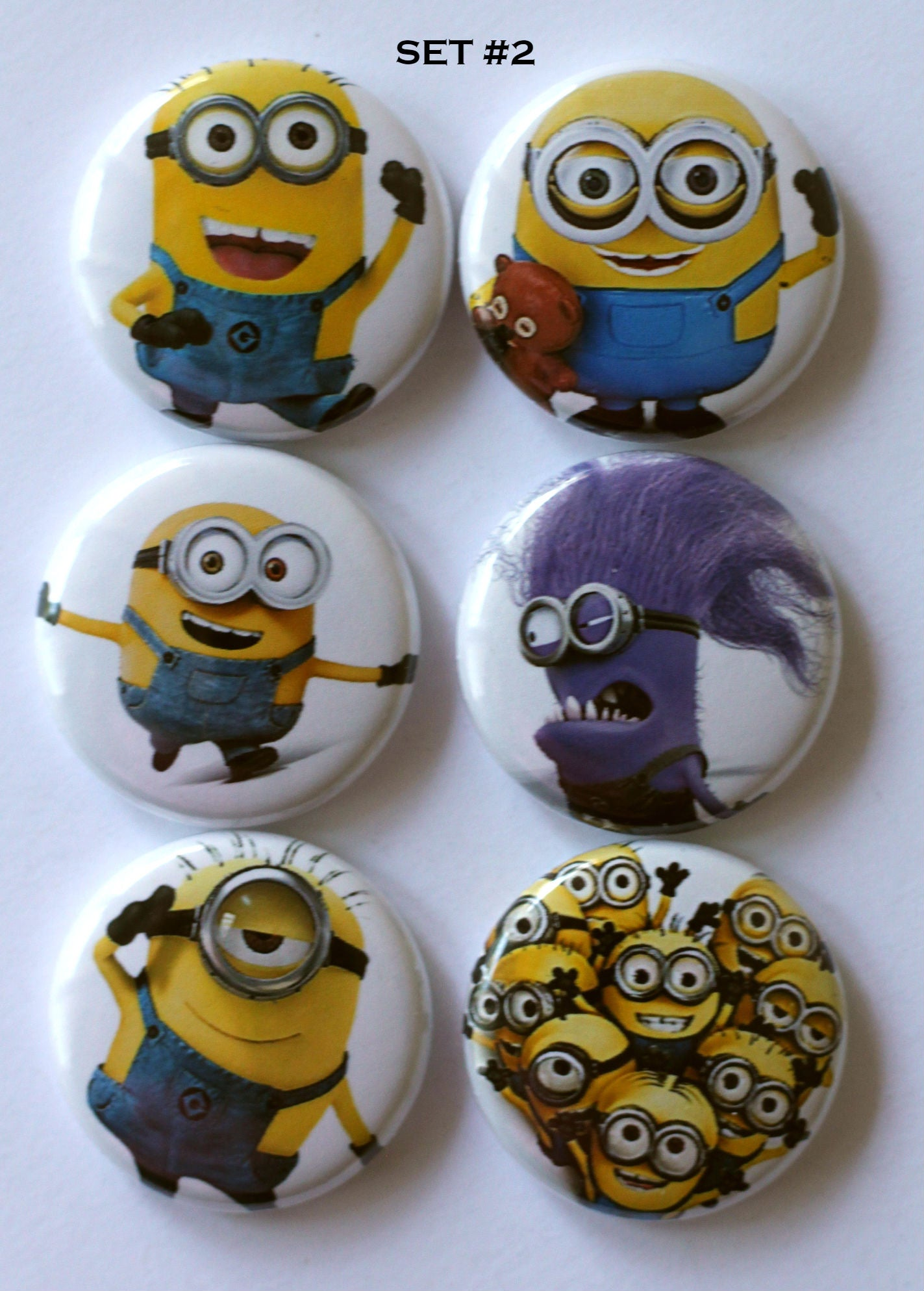 Image of Minion Flair Buttons
