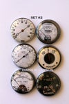 Steampunk Gauge Flair Buttons