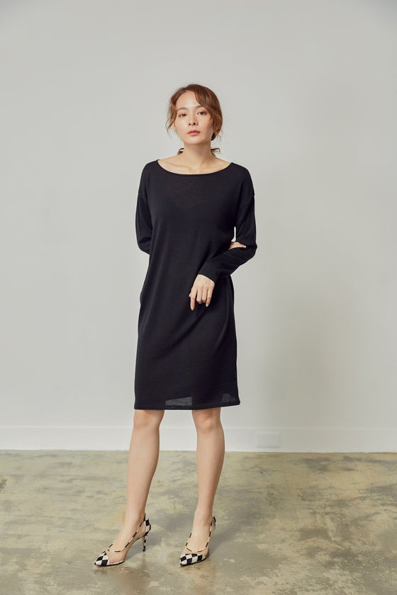 Image of JANINA SWEATER DRESS