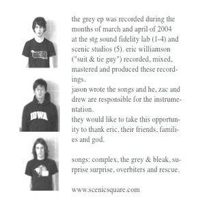 Image of Scenic Square: The Grey EP