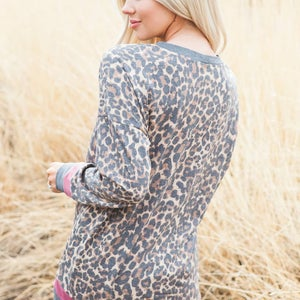 Image of Leopard Top