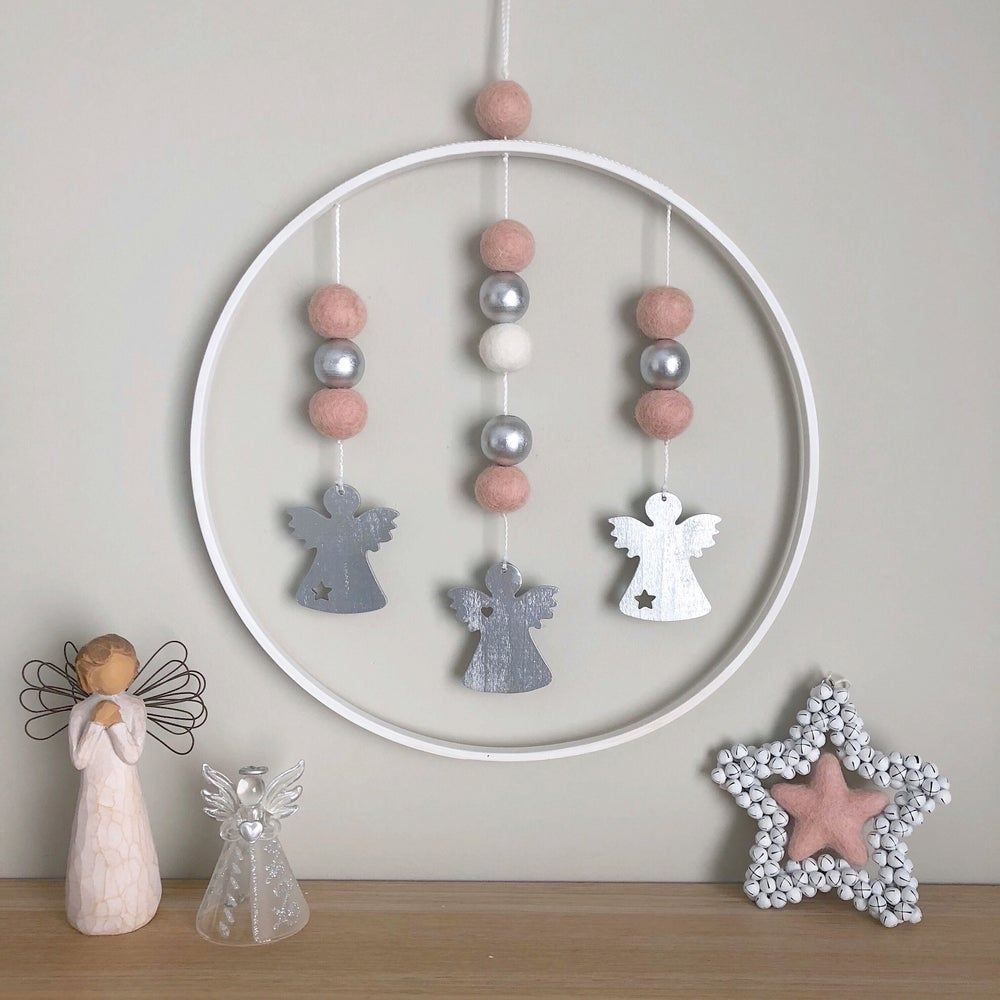 Image of Painted wall hangings - 30cm
