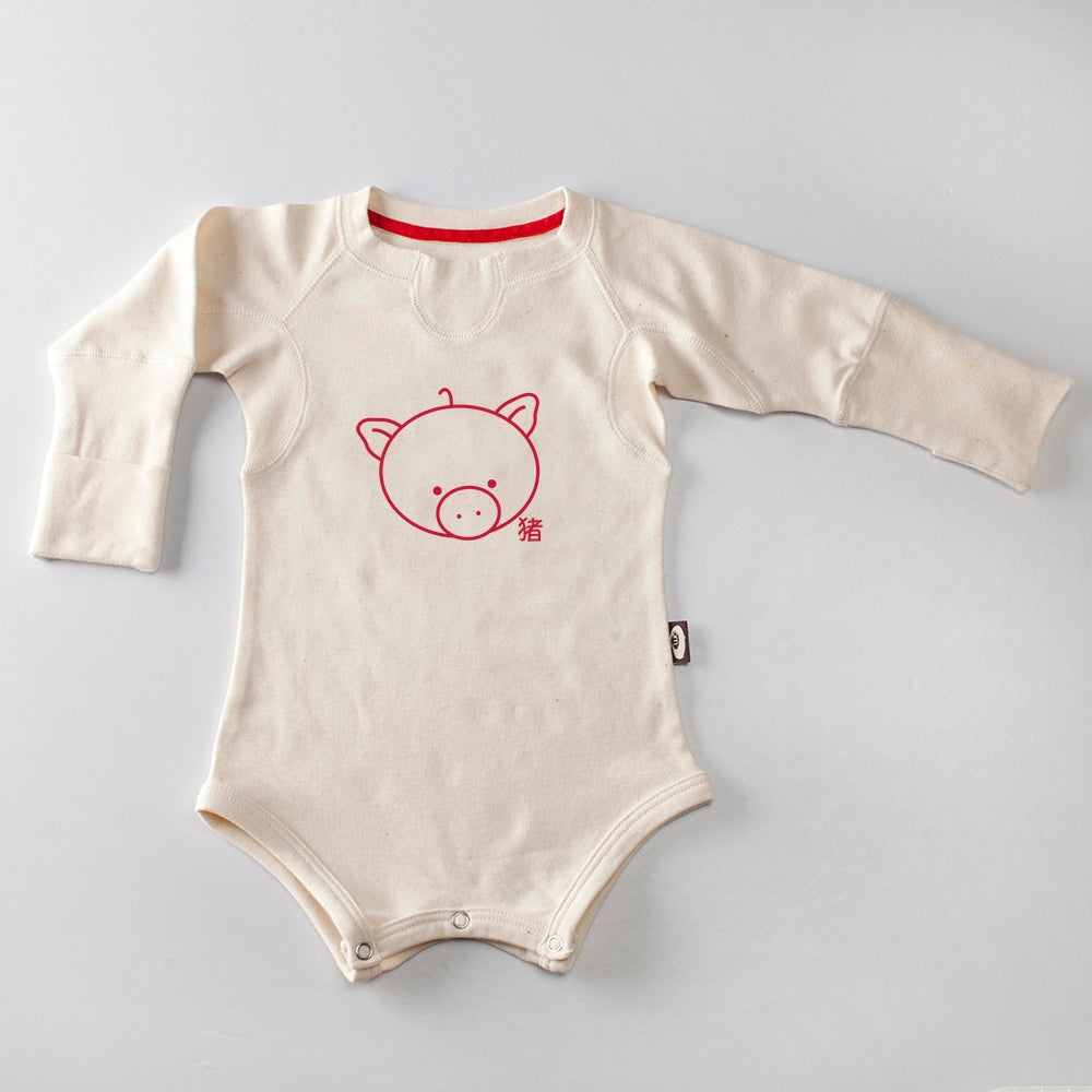 Image of Hold Me Bodysuit LS . Year of the Pig