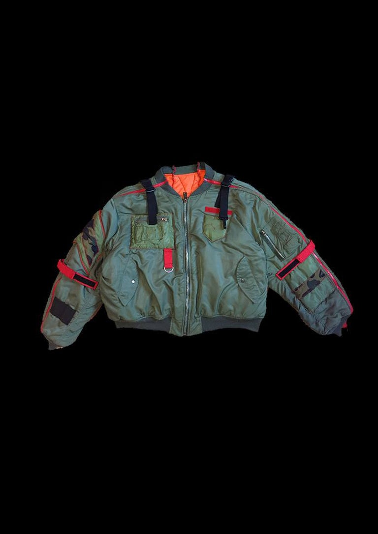 Image of MQ SOLDIER ZIPPER BOMBER
