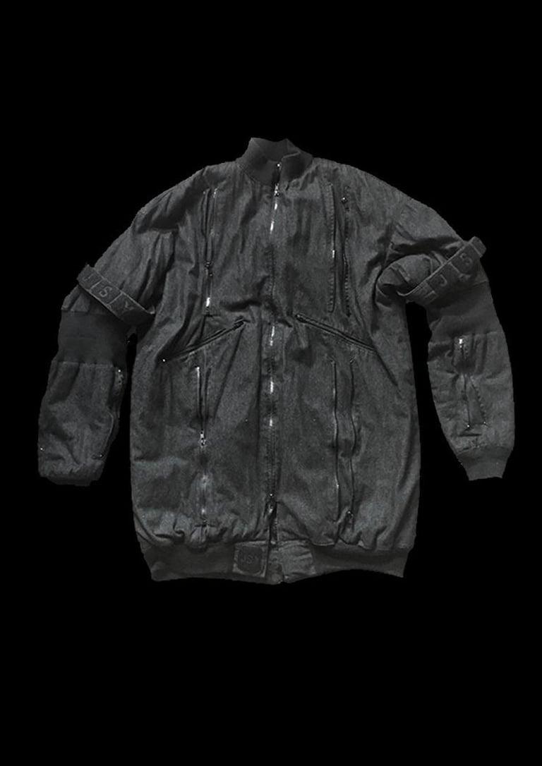 Image of LONG BOMBER COAT