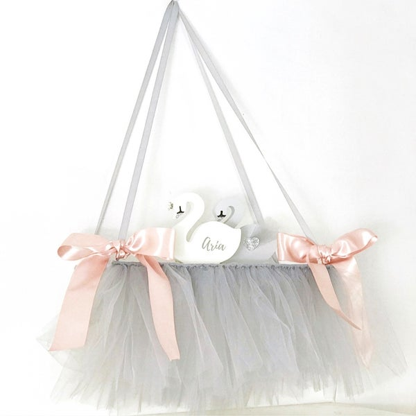 Image of Silver/Grey tutu shelf