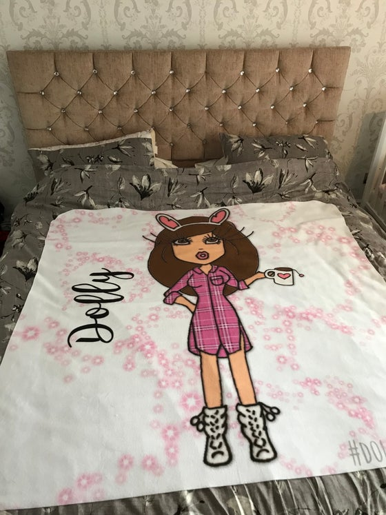 Image of Dolly Throws/Blankets