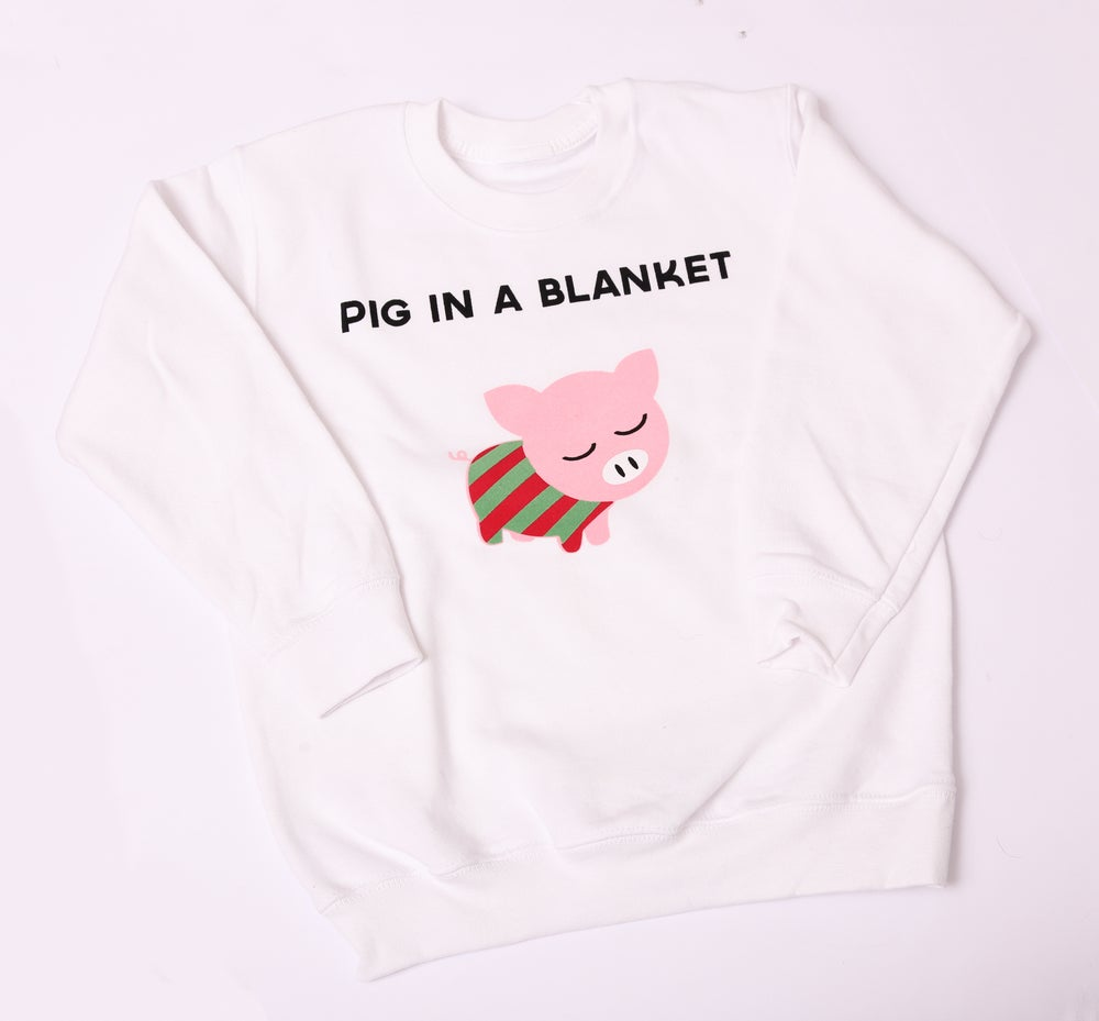 Image of Pig in a Blanket Jumper/Tee