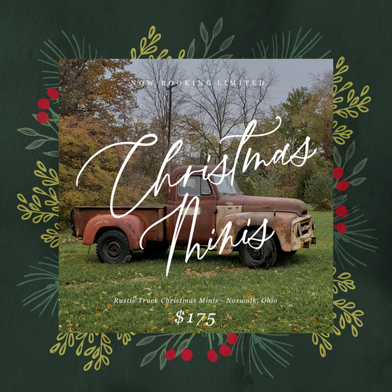 Image of Rustic Truck Christmas Minis
