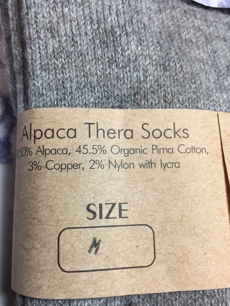 Image of Alpaca Thera-socks
