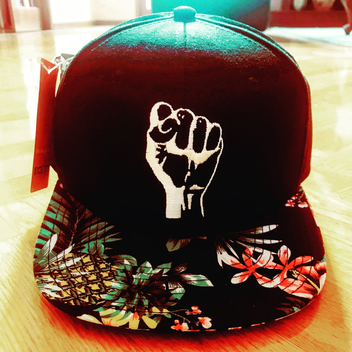Image of Rfp Floral Hat