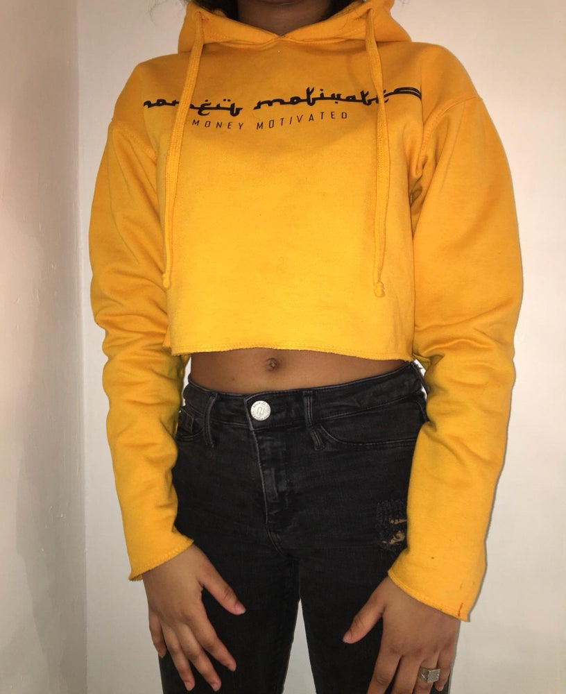 Image of 'MM' Cropped Jumper