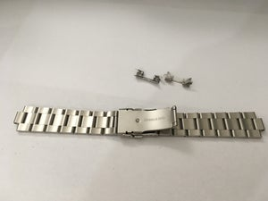 Image of SEIKO SOLID STAINLESS STEEL OYSTER GENTS WATCH STRAP,CURVED LUG,20MM/22MM,NEW.,