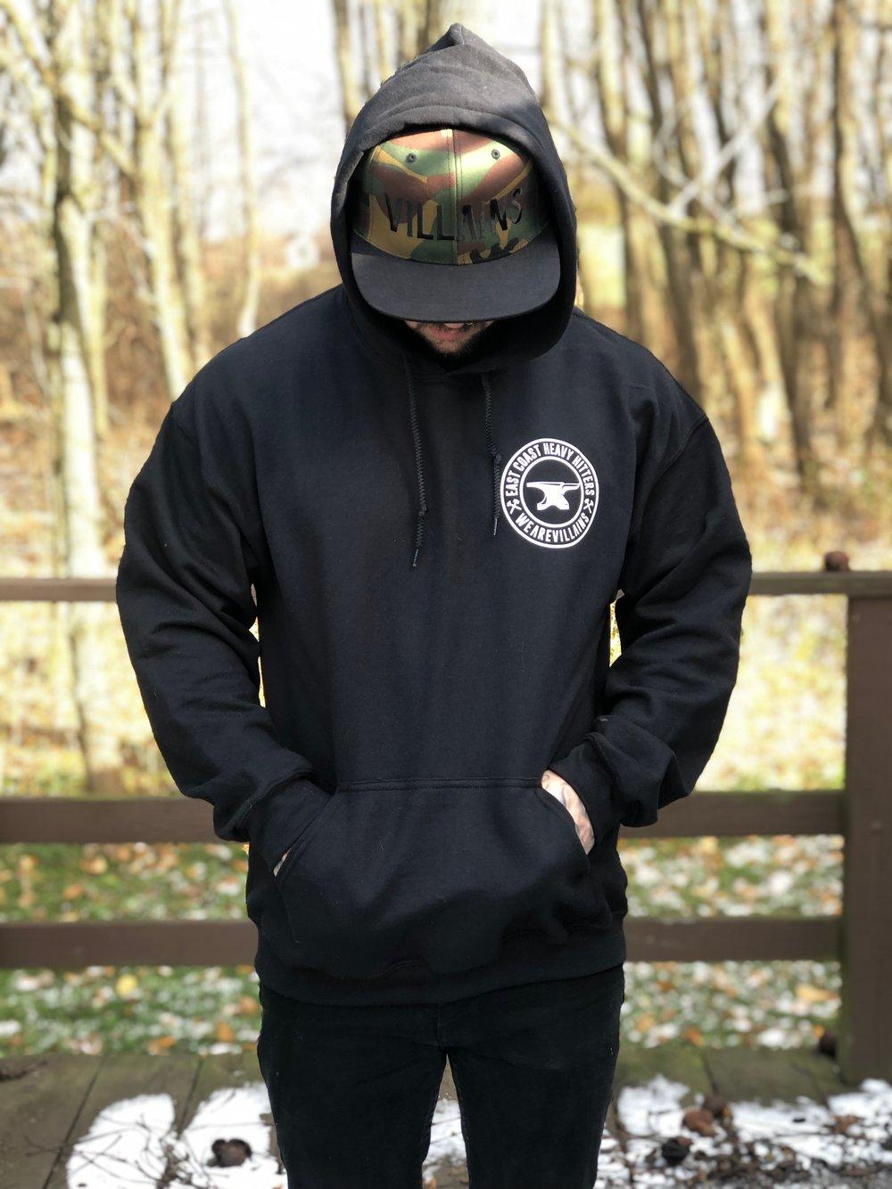 EAST COAST HEAVY HITTERS WEAREVILLAINS hoodie