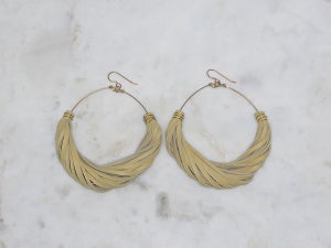 Image of Rebel Chic Neutral Hoops