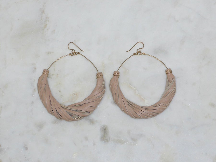Image of Rebel Chic Signature Hoops Neutral