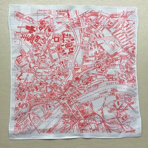 Image of Newcastle Gateshead Map Hankie