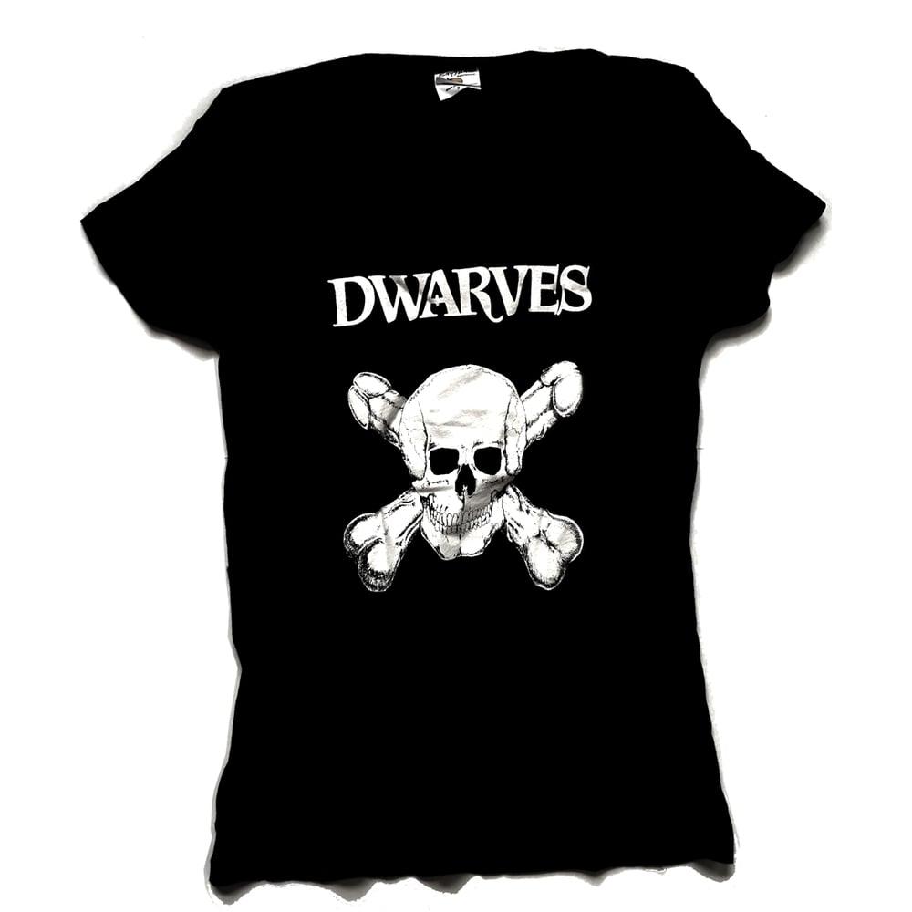 Image of The Dwarves - Skull And Cross Boners / Detention Girl - Girly T-Shirt