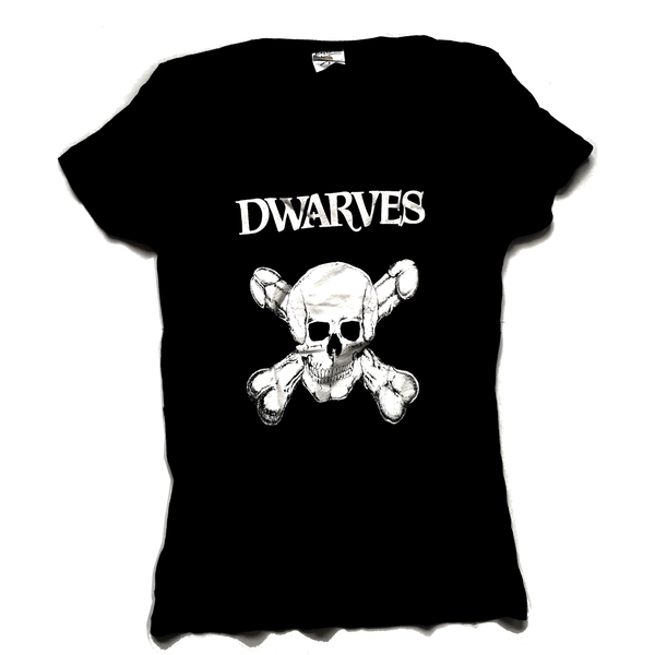 Image of The Dwarves - Skull And Cross Boners / Detention Girl - Girly T-Shirt
