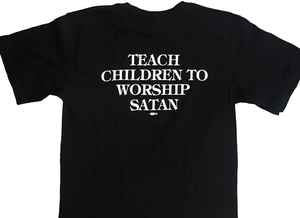 Image of The Dwarves - Skull And Cross Boners / Teach Children To Worship Satan - T-Shirt