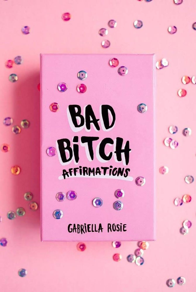Image of Bad Bitch Affirmations Deck