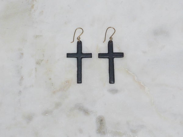 Image of Cross Earrings