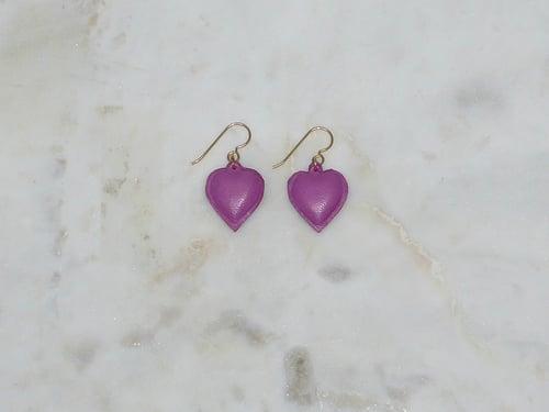 Image of Rebel Chic Sacred Heart earrings