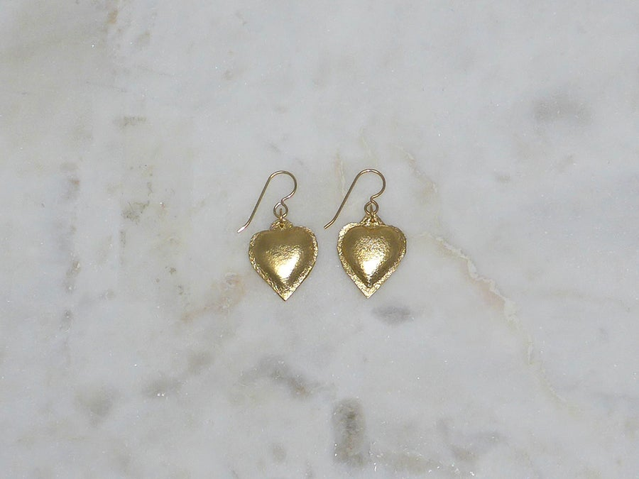Image of Rebel Chic Sacred Heart earrings