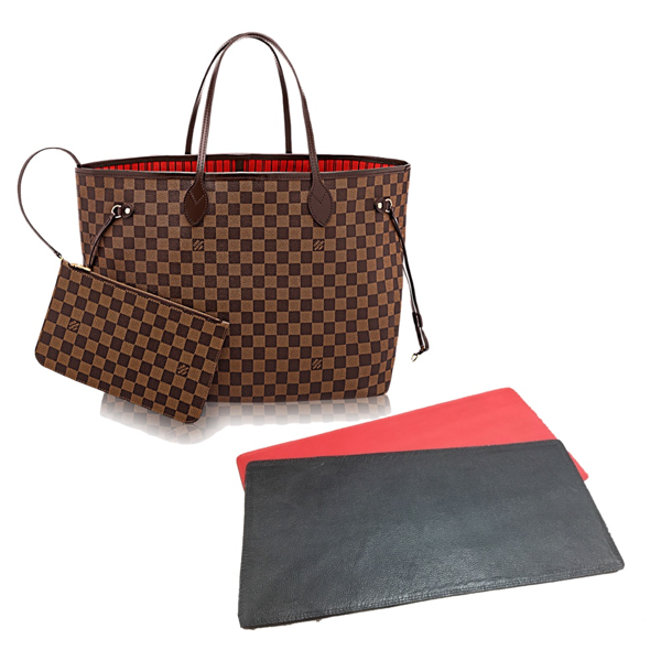 50be78523f20 Genuine Leather Bag Base Shaper For Louis Vuitton LV Neverfull GM ...