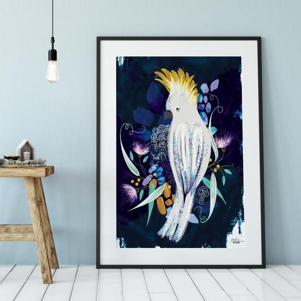 Image of Cockatoo - Art Print