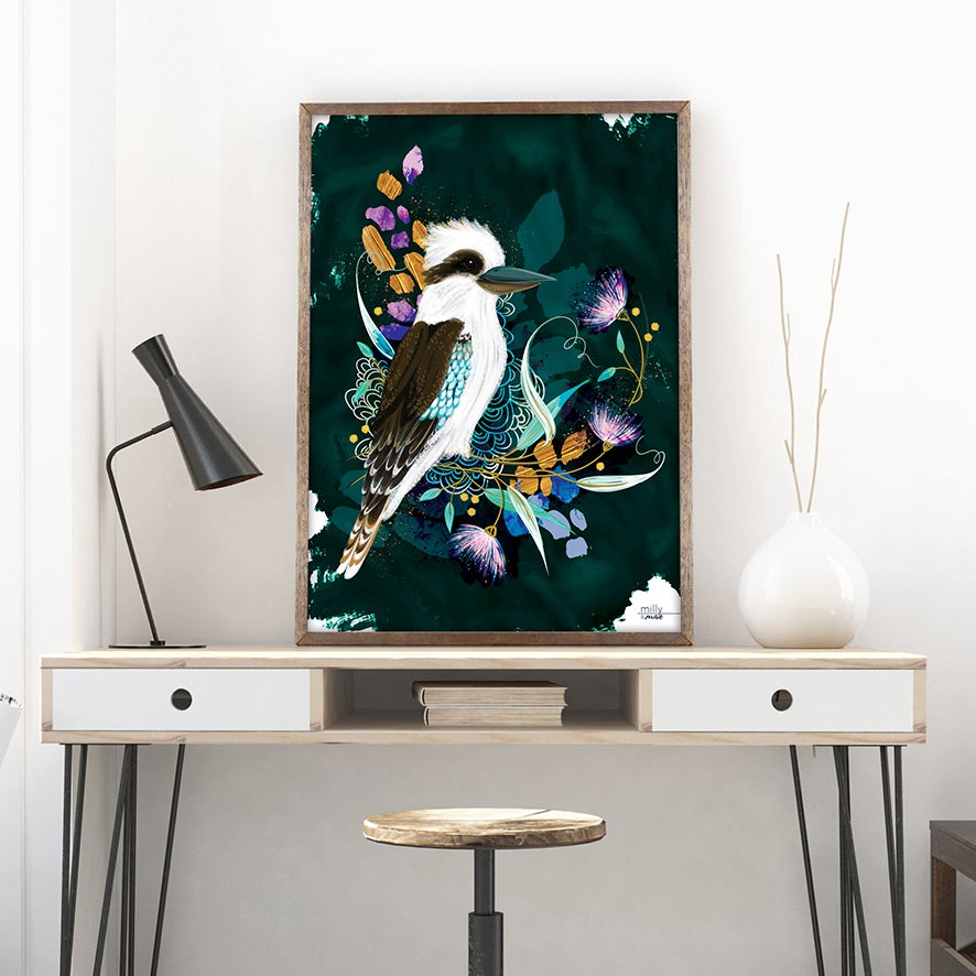 Image of Kookaburra - Art Print