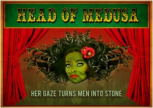 Image of Medusa A2 Poster Print