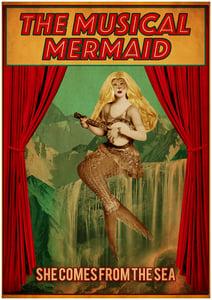 Image of Musical Mermaid A2 Poster Print